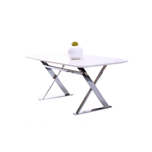 GDT6450 white luxury wood dining table