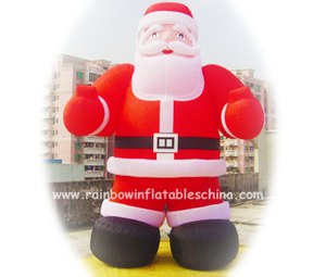 RB20021(4mh) Inflatable Santa Claus Mascot In Holiday Events
