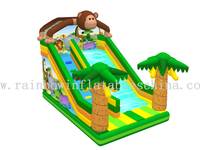 RB01019(8x4m) Inflatable Popular monkey Slide for Children/ Inflatable High Slide