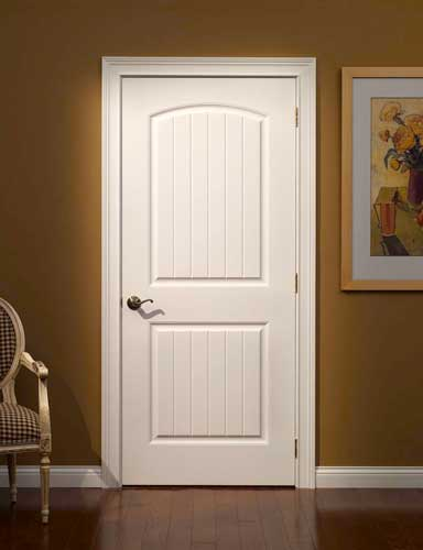 sophisticated french style white paint wooden interior doors - Interior Doors