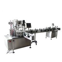 Rotary vial filling production line