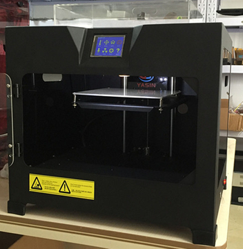 Dual Extruder Yasin Aide200 DN 3D Printing Machine, Desktop Two Extruder 3D Printer