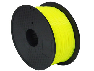 1.75mm/3.0mm 1kg spool Yellow Color ABS 3D Printer Filament