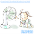 Fan motor cleaning