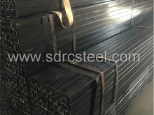 Square Black annealed steel pipe