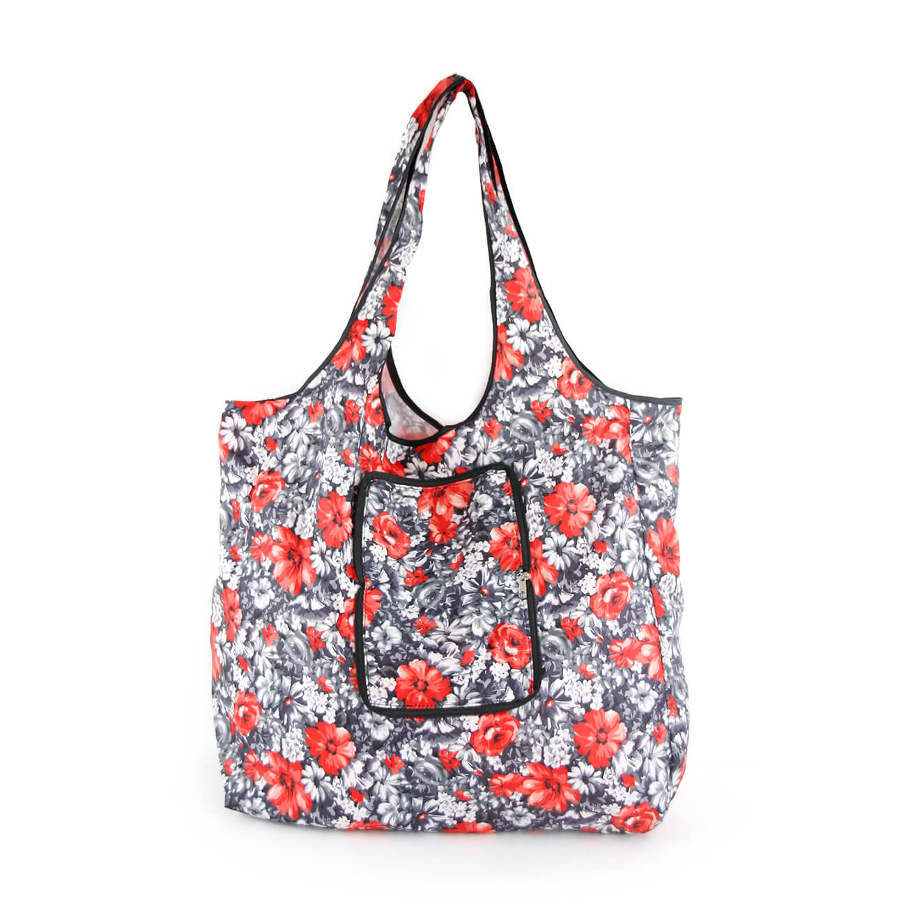 Flower Foldable nylon tote bag