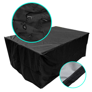 Waterproof garden patio furniture set cover rattan table cube outdoor