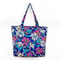 Advertising 600d Polyester Tote Bag With Flower Printing