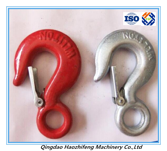 Lifting omega shackle with galvanized surface
