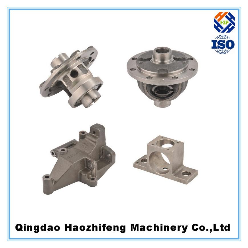 aluminum sand casting 3 way valve
