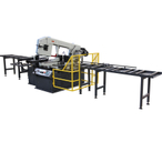 BS-460GB SEMI CNC Metal cutting band saw machine