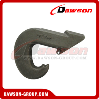 G80 / Grade 80 Heavy Duty Weld on Hook / Punto de elevación