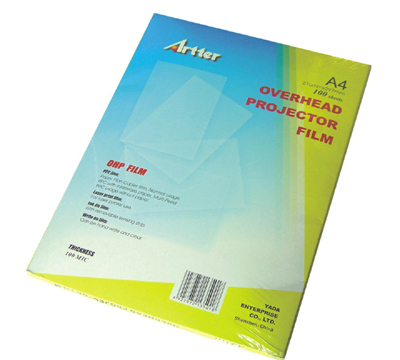 Overhead Projector Film (OHP)