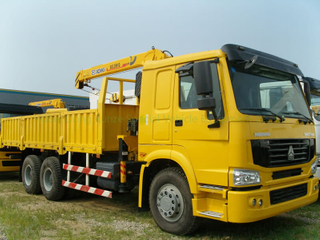 ZZ1257N4641W truck mounted 10T crane to Ghana price