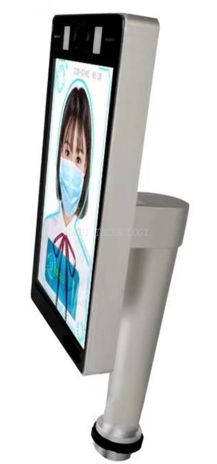 body temperature measurement face recognition access control system
