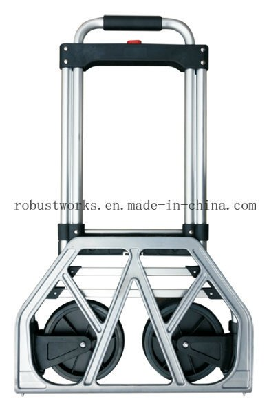 Foldable Chrome-Plated Steel Hand Truck (HT022DXD)