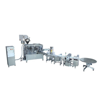 Powder doypack packing line