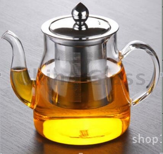 Glass teapot-T09023