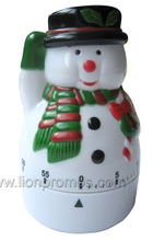 Christmas Marketing Season Promotional Gift Michanical Kitchen Timer