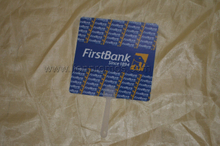 First Bank Logo Cheap Giveaways Plastic Fan
