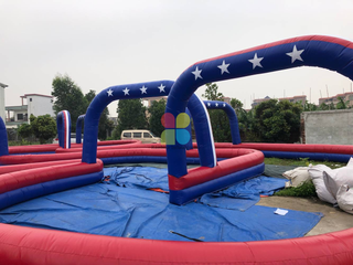 New Inflatable Racing Track
