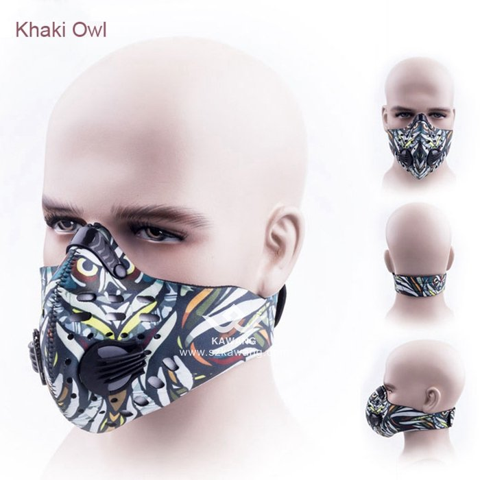 Kawang Best Anti Pollution Motorcycle Mouth Cover Cycling Dustproof Fack Mask for Bike Riding