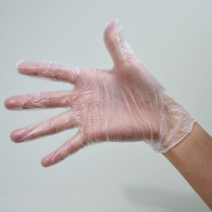 Wholesale cheap disposable powder free clear vinyl examination gloves manufacturer
