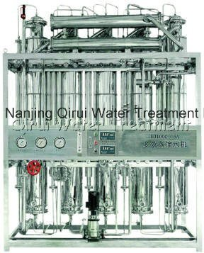 Multiple Effect Steam Heated Distilled Water Machine