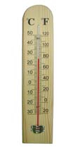 CF308-6B Wooden Thermometer