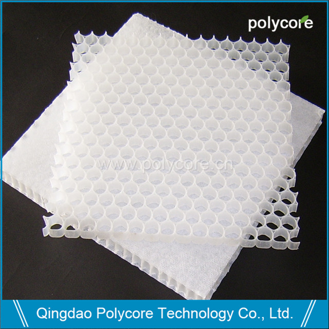 Polycore PP honeycomb core and PP honeycomb sheet