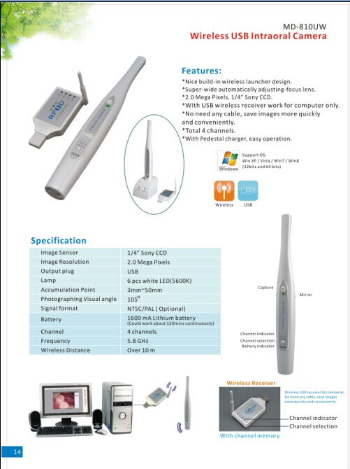 USB Wireless Intraoral Camera