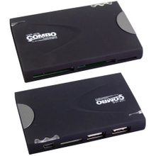 USB 2.0 Combo Card Reader Style No. Cr-206
