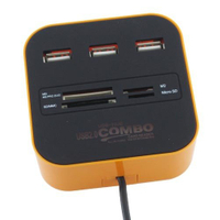 Hub Card Reader/Writer USB Port