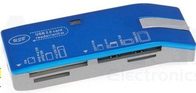 USB Card Reader/Writer 4 in 1 Style No. Cr-037