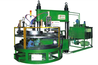 ¢300-405 eight workstation cutting wheel forming press machine