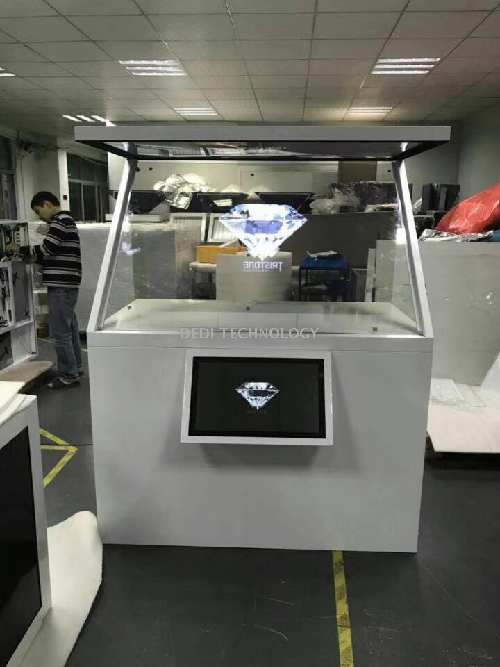 3D Holographic Projection Advertising Display