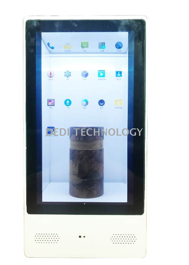 21.5 Inch Android Quad Core WiFi 4G LCD Transparent OLED Display