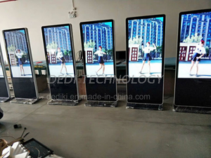Dedi Indoor 47inch Vertical LCD Kiosk Portable Digital Signage
