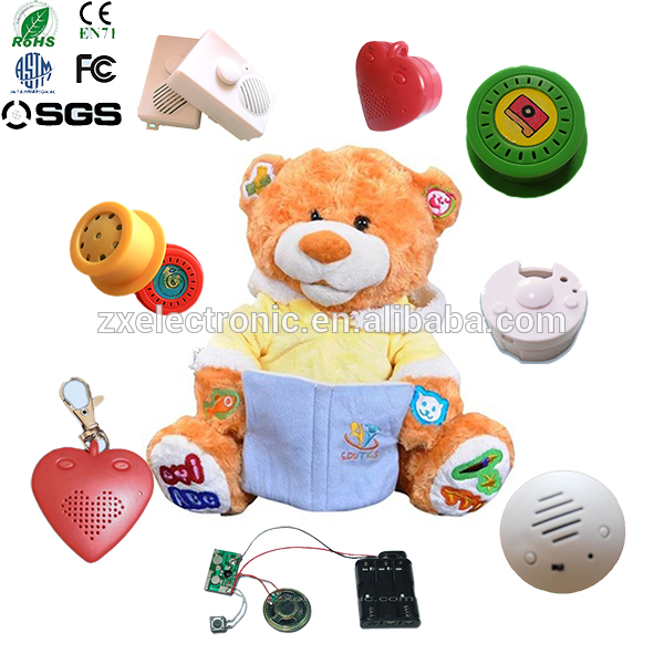 Squeezed Button Motion Sensor Sound Recording Device For Toy