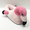 Cute Flamingos Shaped Plush Kids Animal Slippers