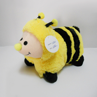 Cute Stuffed Plush Animal Baby Bee Pillow