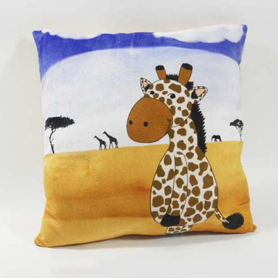Custom Factory OEM Soft Plush Giraffe Pillow