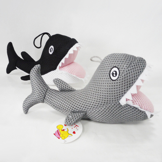 Lovely Funny Sandwich Fabric Shark Baby Bath Toy