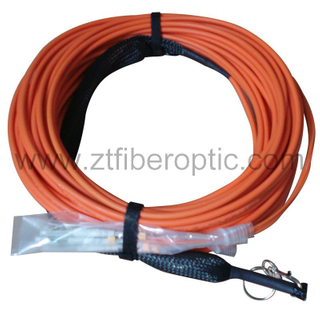 4fibers Multimode LC Fiber Optical Patch Cord