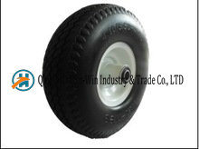 Solid PU Tire for Hand Truck From China Supplier Wheel (10*3.50-4)