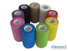 Medical Self Adhesive Bandage Wrap?with Different Colors
