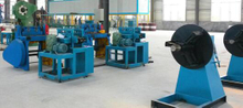 Steel coil decoiler and straightening and 315Ton hydraulic presser - Both for handle and bottom base