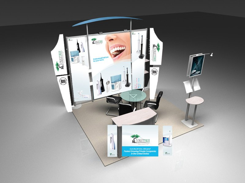 Trade Show Booth Hs Code : Standard combination of the booth aluminum display stand