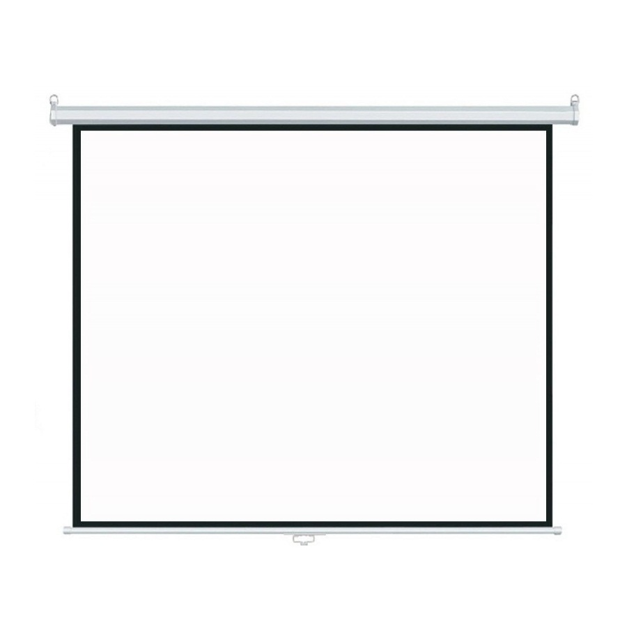 150'' Best choice Manual Wall Projection Screen Pull Down Projector Screen