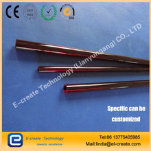 Lianyungang Red Quartz Glass Tube